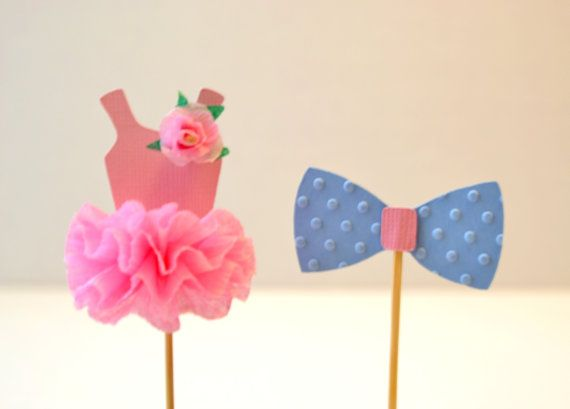 Hey, I found this really awesome Etsy listing at https://www.etsy.com/listing/181527723/gender-reveal-pink-tutu-and-blue-bow-tie