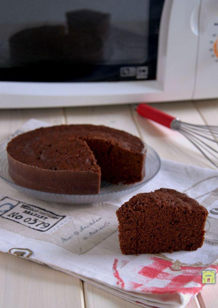 torta al cioccolato al microonde gp