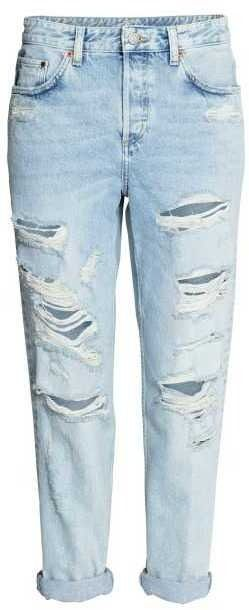Ripped Boyfriend Jeans by H&M on ShopStyle.