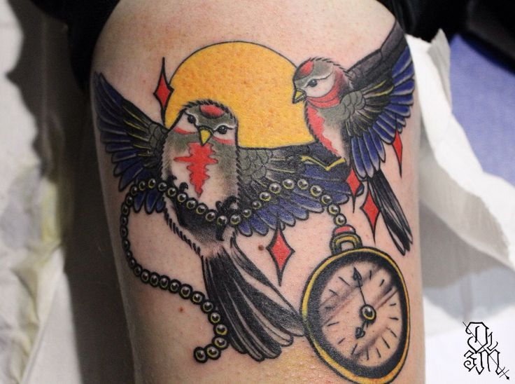 Done at Palermo Tattoo Expo 2015  elena@doublemachine13.com - www.doublemachine13.com
