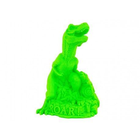 L'artiste britannique Marke Newton s'est inspiré des films de dinosaures des années 50 pour concevoir cette superbe veilleuse 'DinoROAR' vert...