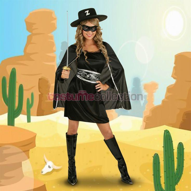 Womens+Masked+Zorro+Costume