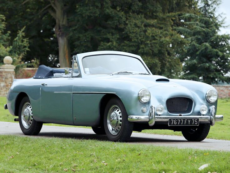 1954 Bristol 405 Drophead Coupe