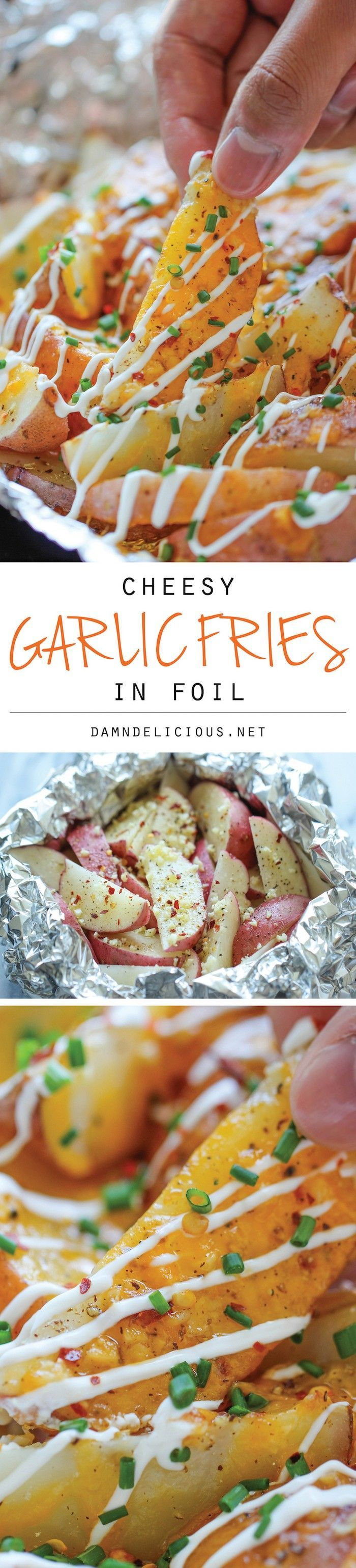 You will find recipes for aluminum foil that you can use for parties, … – …   – Foil Pack Meals