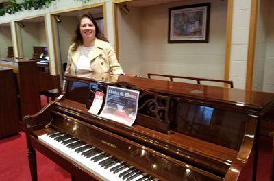 Rachel Walter from Walter Piano
