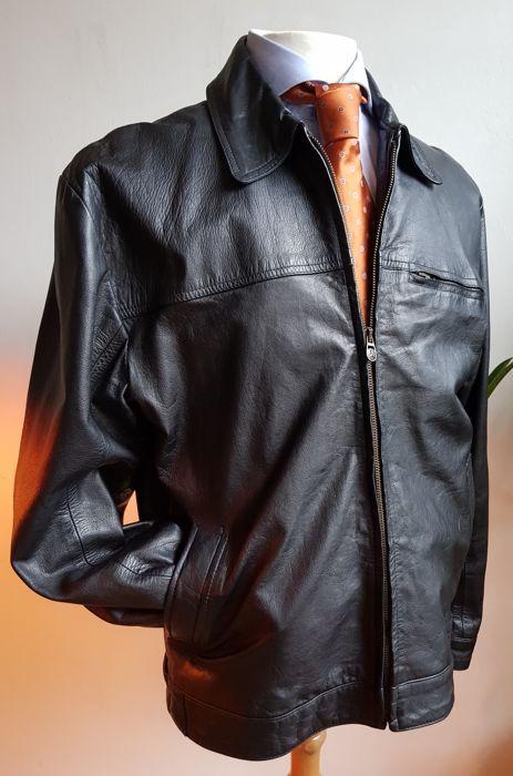 dd3ffb3399a Nu in de #Catawiki veilingen: Pall Mall - Leren jas Gear Up ...
