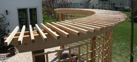 How to Build Curved Pergola Plans Download how to build a pergola ... Architectural Landscape Design