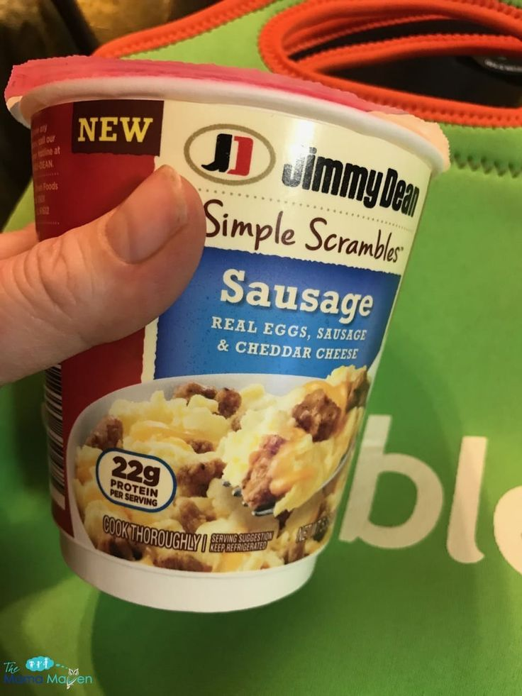 Jimmy Dean Simple Scrambles: Enjoy Your Protein on the Go {AD} #simplescrambles @Walmart #busyparents