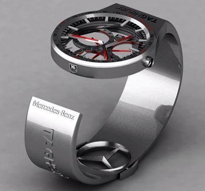 TAG-Heuer Formula-1 Watch by Peter Vardai.
