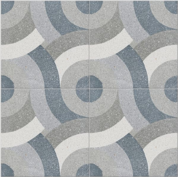 Monza pattern terrazzo collection