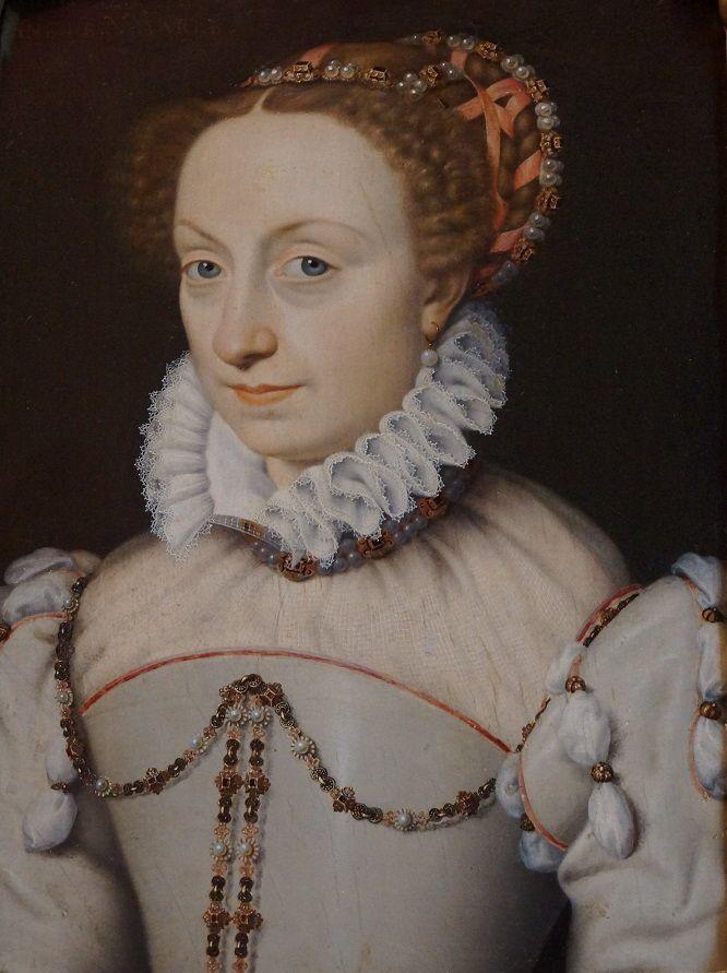 DSC05881 Клуэ. Дочь Генриха и Маргариты Наваррских Жанна д'Альбре, мать будущего короля Генриха IV, основателя династии Бурбонов.