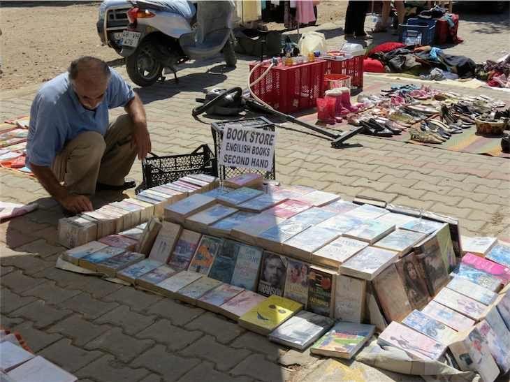 Bitez Sunday Flea Market ... english books