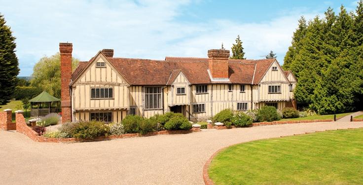 Exterior of Cain Manor - Elizabethan Oak Wedding Venue in Surrey/Hampshire