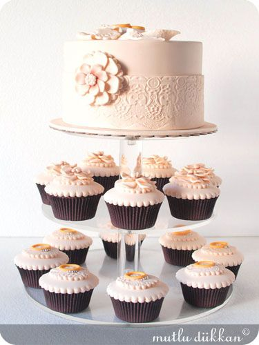 Düğün & Nişan & Söz | Mutlu Dükkan - Butik Kurabiye, Cupcake ve Pastalar