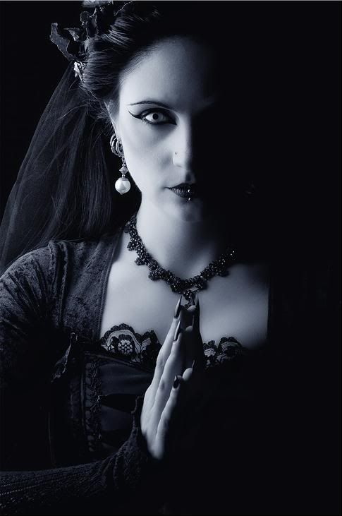 """Follow Favorites: Gothic-and-Beautiful : A Dedication to a Shared Taste"" This is actually dedicated to a tumblr page, but there are so many beautiful images here that I figure that I'll need a whole board for it. More beautiful Gothic women and cloths here"