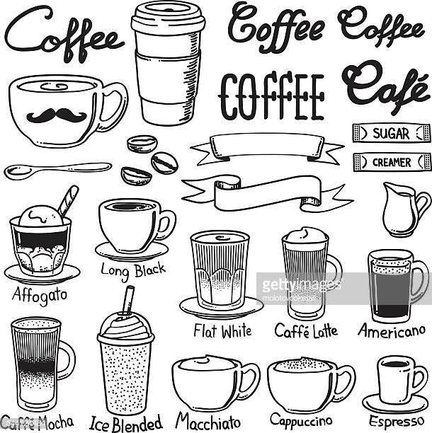 60点のカフェのイラスト素材クリップアート素材マンガ素材アイコン カフェイラスト いたずら書き ペンイラスト