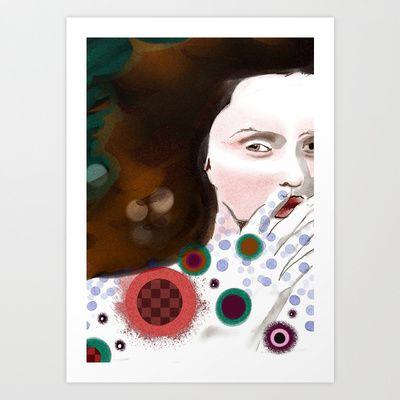anxiety Art Print by Kreska - $12.48