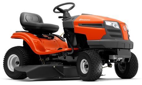 HUSQVARNA TS 138 The TS 138 is a user-friendly tractor ideal for homeowners having small to mid-size gardens. It is an efficient tractor with side ejection, smart design and ergonomics. Has a powerful Husqvarna Series engine with choke less start and convenient pedal-operated transmission. Can be complimented with a collector and BioClip® cover.