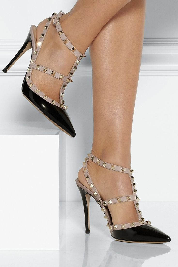 Valentino studded heels. A girl can dream.
