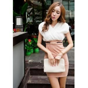 Cheap 2013 New Elegant Slim Dress with Belt, wholesale & drop shipping Dresses – CooliCool.com