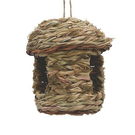 Nido Exterior Hierva Huerto 2 Hueco Tipo Cono LIVING WORLD - #FaunAnimal Nidos de exteriores para pájaros silvestres está diseñado específicamente para proporcionar las aves silvestres con un refugio seguro para el descanso y cría.