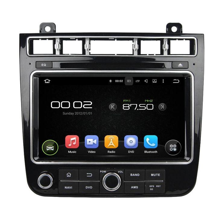 otojeta car dvd player for VW TOUAREG 2015 octa core android 6.0 2GB RAM auto stereo gps/radio/dvr/obd2/tpms/camera