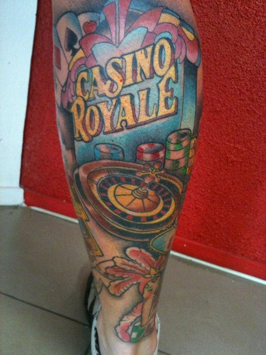 casino royale tattoo