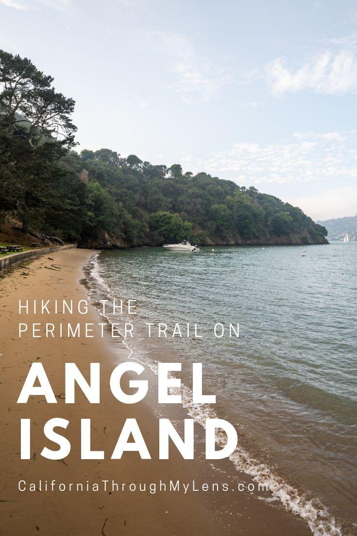 Angel Island State Park Hiking The Perimeter Trail San