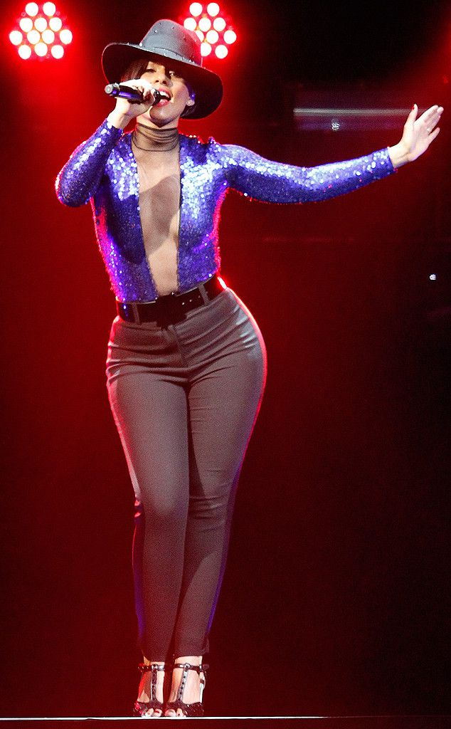 Alicia Keys from The Big Picture: Today's Hot Pics