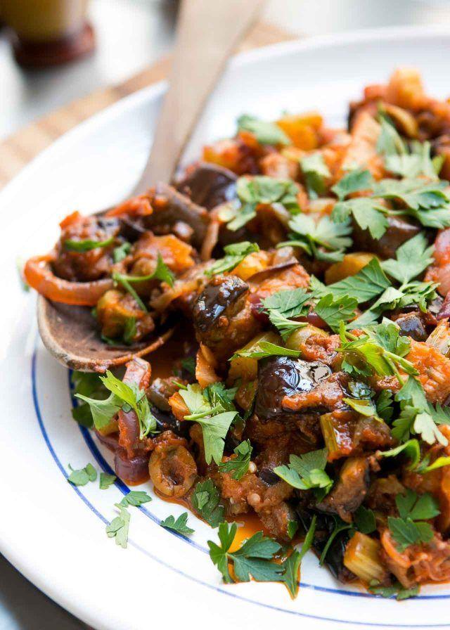 kitchen boss eggplant caponata%0A Caponata