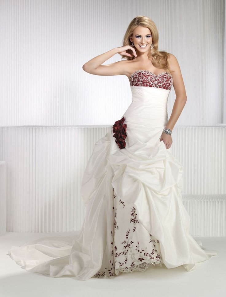125 best Wedding Dresses with Color images on Pinterest | Wedding ...