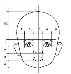 the proportion of the child's face - Поиск в Google