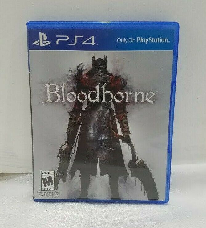 Bloodborne Ps4 Game Sony Playstation 4 Free Shipping