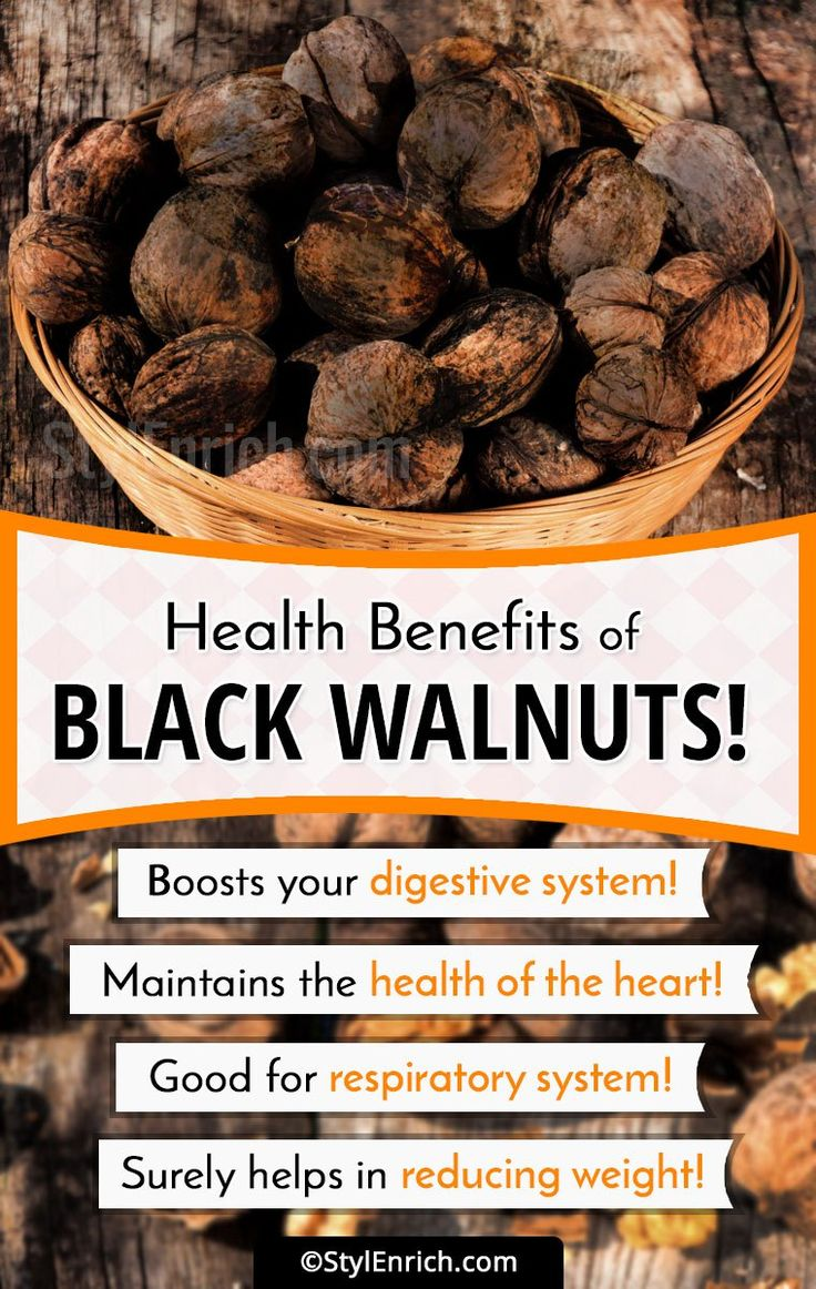 #BlackWalnuts – Let's See Reasons Why You Must Eat Them!