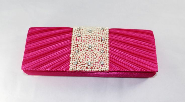 Pink Party Purse wedding clutch bag