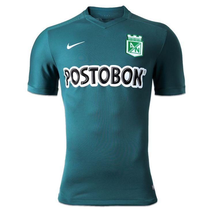Camiseta de Juego Alterna Dama Nike 2015: 1409755 Atlético Nacional