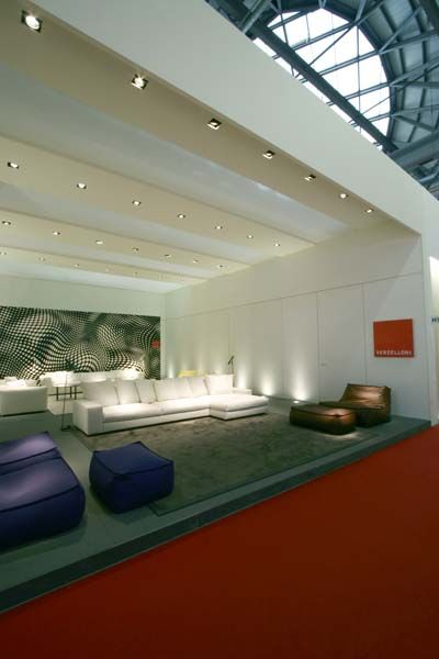Our stand at Salone del Mobile 2007