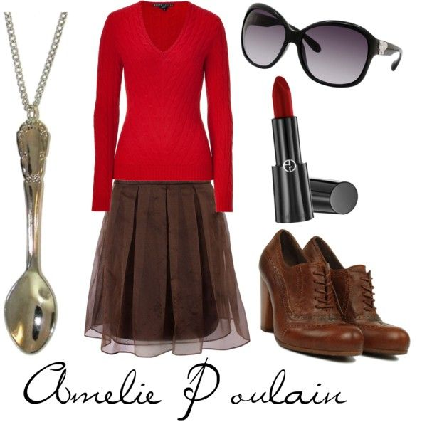 """""""Amelie Poulain"""" by character-inspired-style on Polyvore"""