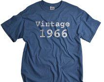 50th birthday gift vintage 1966 shirt 50 birthday gift 1966 birthday tshirt birthday shirts for men and women 50th birthday ideas