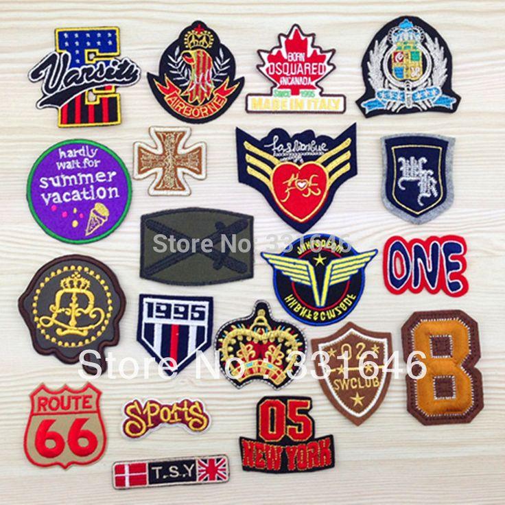 20designs-mixed-Fabric-badge-font-b-clothes-b-font-patch-stickers-font-b-clothes-b-font.jpg (800×800)