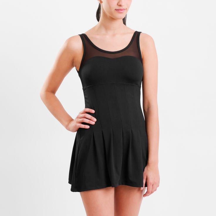 Vestido Abril visto de frente. Para más detalles: http://www.tiendascrubs.com.ar/vestidos/vestido-abril/