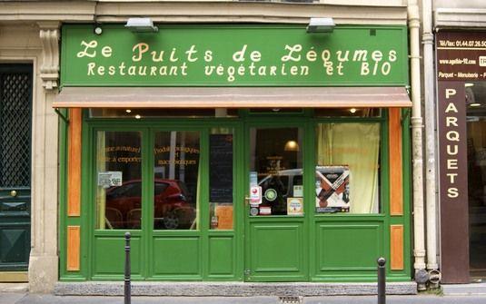 Le Puits de Légumes, Paris - casual vegetarian dining