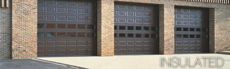 Climate control, reliability, durability-- our premier, thermally broken, polyurethane insulated steel garage doors have it all, providing excellent temperature control, energy efficiency and long-lasting service for a wide range of applications, such as firehouses, warehouses, and municipal buildings.