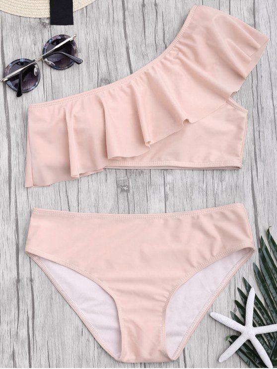 $ 14.48 Bademode 2017: Zaful, Bikinis, Micro-Bikini, Bikini mit hoher Taille, Neckholder-Biki…