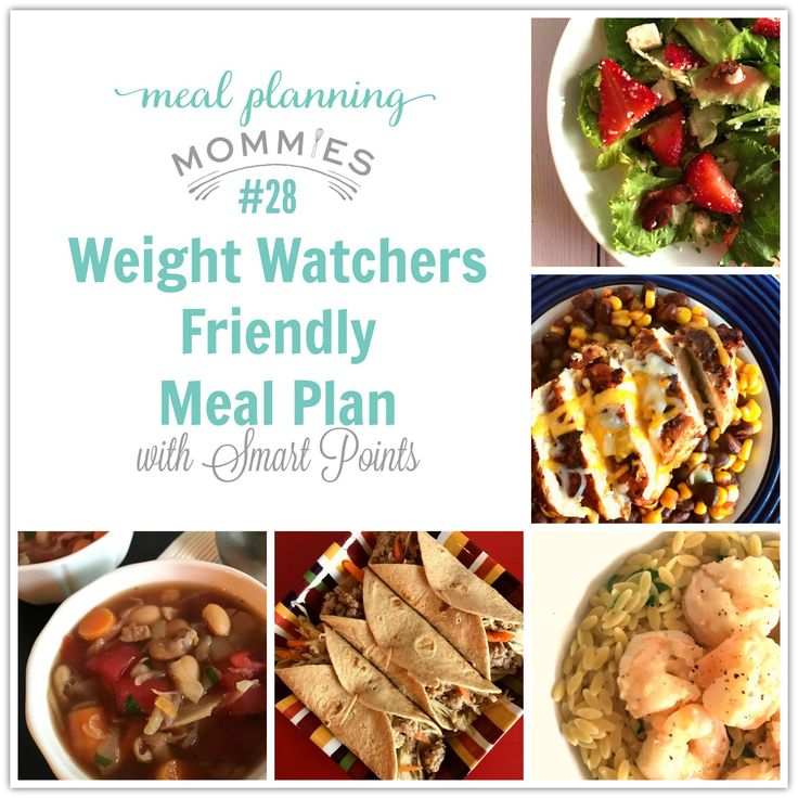 This week's FREE Weight Watchers friendly meal plan includes recipes like Chipotle Blackened Chicken and Shrimp Scampi. Plus, free printable grocery list.