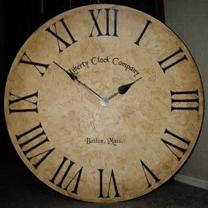Antique Brown, Clock Company Name