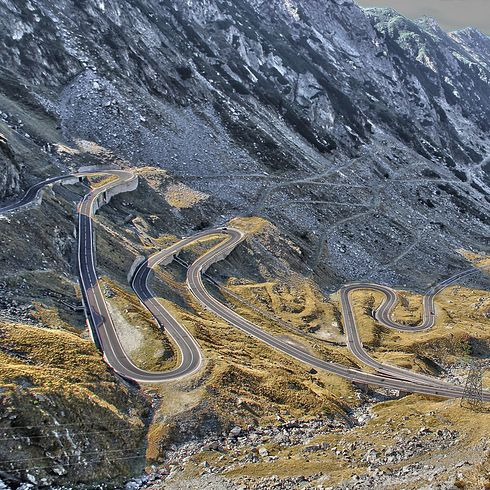 Transfăgărășan Road — Sibiu, Romania 16 Spectacular Roads You Need To Drive On Before You Die
