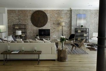 Spice Warehouse Tribeca Loft Living room - eclectic - living room - new york - Marie Burgos Design