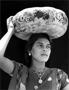Woman of Tehuantepec, Mexico, 1929, Tina Modotti