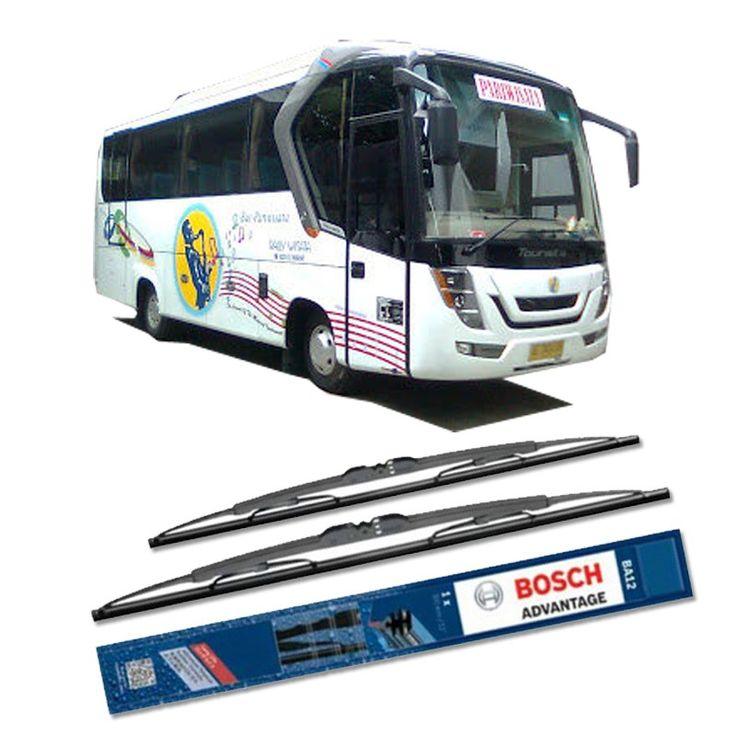 """Bosch Sepasang Wiper Kaca Mobil Bus/Bis Tipe Tourista Advantage 28"""" & 28"""" - 2 Buah/Set Referensi  PKTWPR277 Kondisi:  Produk baru  Umur Pakai & Daya Tahan Lebih Lama Penyapuan kaca yang senyap Performa Sapuan Optimal Instalasi Mudah & Cepat Original Produk Bosch  http://klikonderdil.com/with-frame/1196-bosch-sepasang-wiper-kaca-mobil-mobil-busbis-tipe-tourista-advantage-28-28-2-buahset.html  #bosch #wiper #jualwiper #bistourista"""